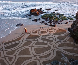 beach, art, and photography image