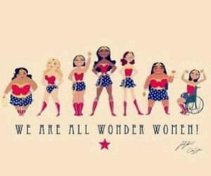 woman, wonder, and power image