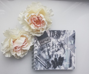 planner, pretty, and flatlay image