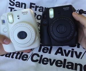 camera, grunge, and polaroid image