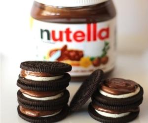 oreo, nutella, and chocolate image