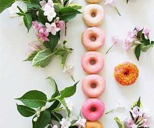 delicious, donut, and food image