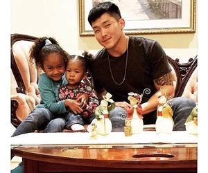 asian, babies, and couple image
