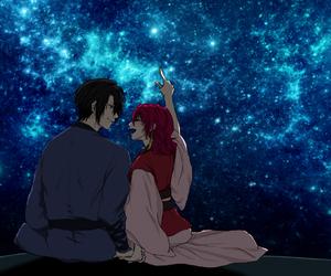 couple, akatsuki no yona, and illustration image