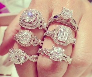 luxury, beautiful, and rings image