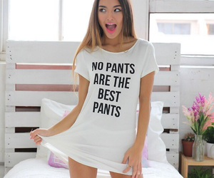 fashion and no pants image