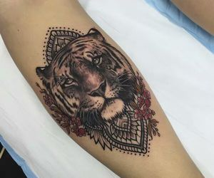 Tattoos and tiger image