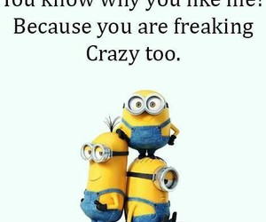 crazy and minions image