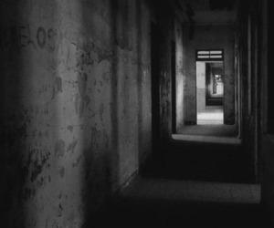 creepy, dark, and scary image