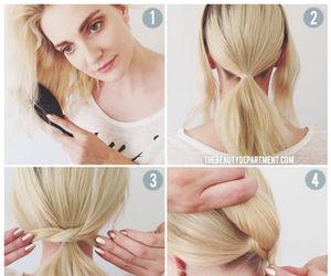 diy, hairstyles, and fantastic look image