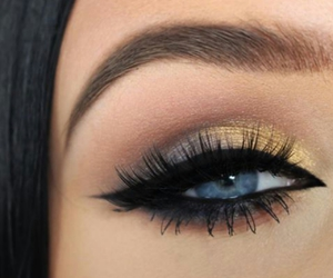 beauty, lashes, and eyebrows image