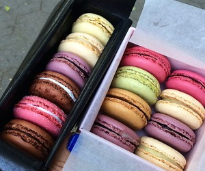 food, macaroons, and tumblr image