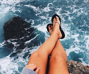 summer, ocean, and beach image