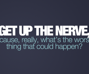 nerve, text, and quote image