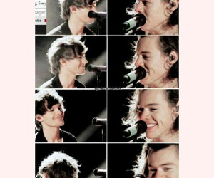 louis, larry stylinson, and one direction image
