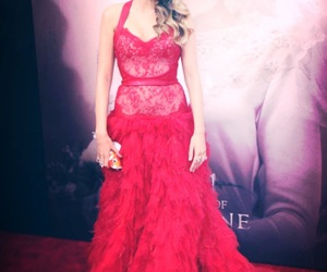 blake lively, red, and dress image