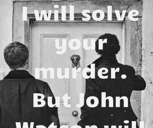 sherlock, john, and john watson image