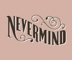 Nevermind and vintage image
