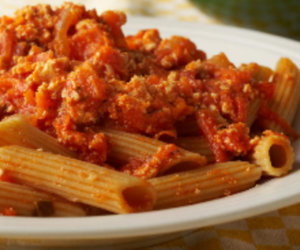 pasta and delicious image