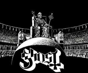 metal, wallpaper, and ghost bc image
