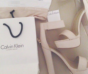 Calvin Klein, shoes, and heels image