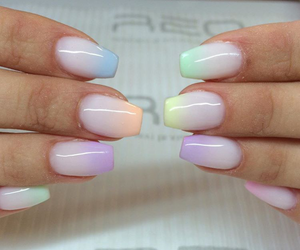 beautiful, colours, and nails image