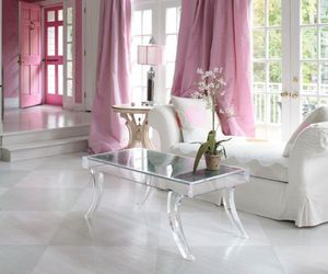 pink, home, and chic image
