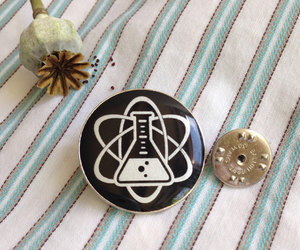 apothecary, badge, and enamel image