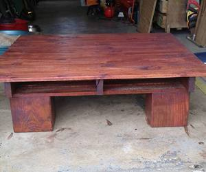 coffee table, pallets wood table, and pallet made table image