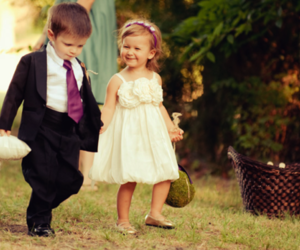 adorable, beauty, and flower girl image