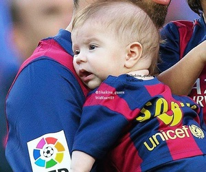 baby, Barcelona, and blue image