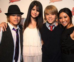 selena gomez, brenda song, and dylan sprouse image