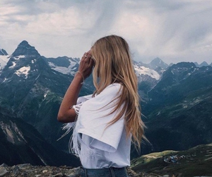 beautiful, mountains, and travel image