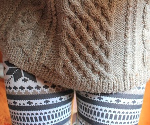 sweater, autumn, and clothes image