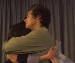 hugs, Harry Styles, and one direction image