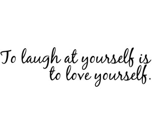 inspiration, laugh, and love yourself image