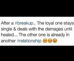 breakup and loyal image