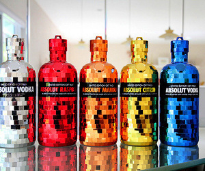 absolut vodka and love image