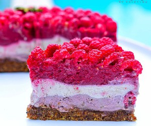 cheesecake, appetising, and delicious image