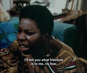 freedom, fear, and nina simone image