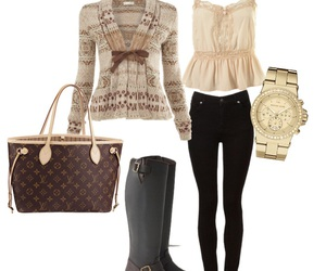 autumn, clothes, and cool image