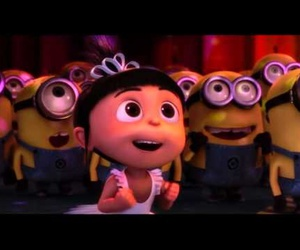 agnes, crown, and minions image