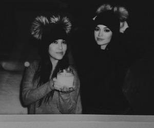 kylie jenner and kourtney kardashian image