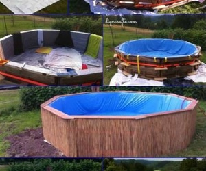 diy, pool, and summer image