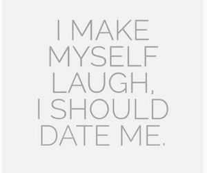 date, quote, and myself image