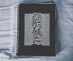 grunge, joy division, and notebook image