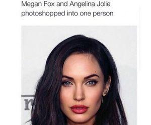 megan fox, Angelina Jolie, and beautiful image