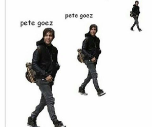 fall out boy, pete wentz, and funny image