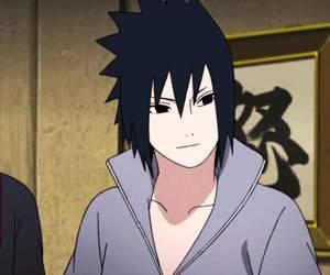 sasuke, naruto shippuden, and uchiha image