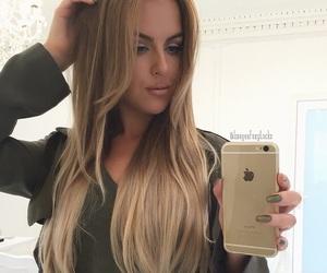 beautiful, extensions, and makeup image